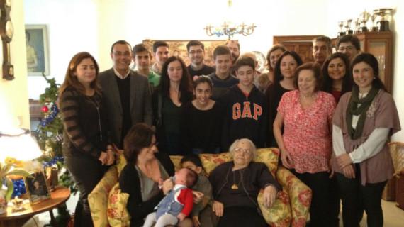 Visita a la mujer con más edad de la provincia de Huelva, con 109 años