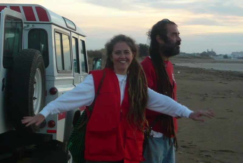 María José Gallardo, el espíritu solidario de Huelva
