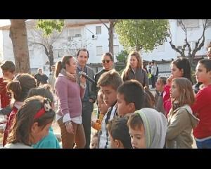 Los niños han participado en la iniciativa.