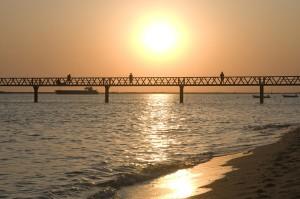 Playa del Puente del Vigía, en Mazagón. / Foto: Patronato Turismo Huelva.
