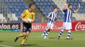 Rubén Gálvez solo ha tenido minutos en la Copa del Rey. / Foto: Josele Ruiz.