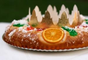 El Roscón de Reyes no puede faltar.