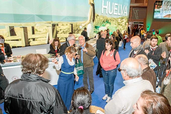 Stand de Huelva en Fitur.