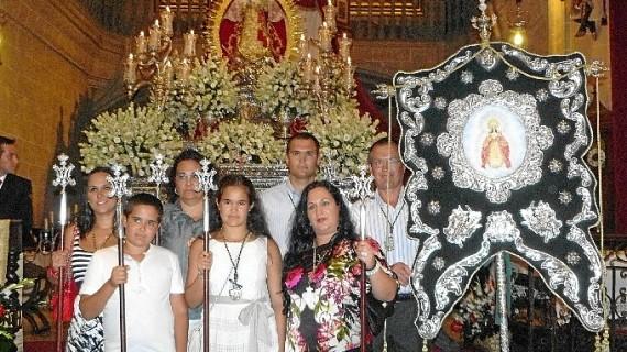 Peregrinación de la Hermandad de Villamanrique a Montemayor