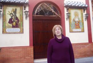 La presidenta de Emigrantes, Belén Requena.