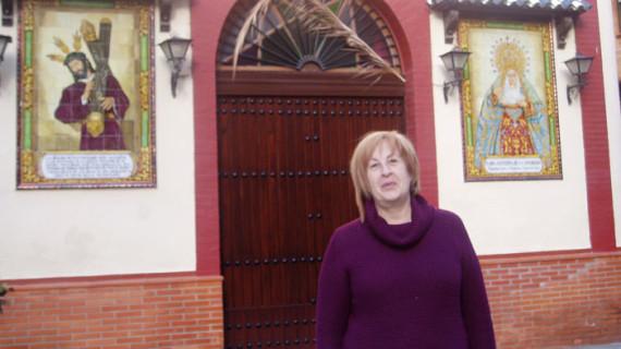 Belén Requena, nueva presidenta de la Hermandad de Emigrantes, una madrileña que se enamoró de la Virgen del Rocío cuando tenía 18 años