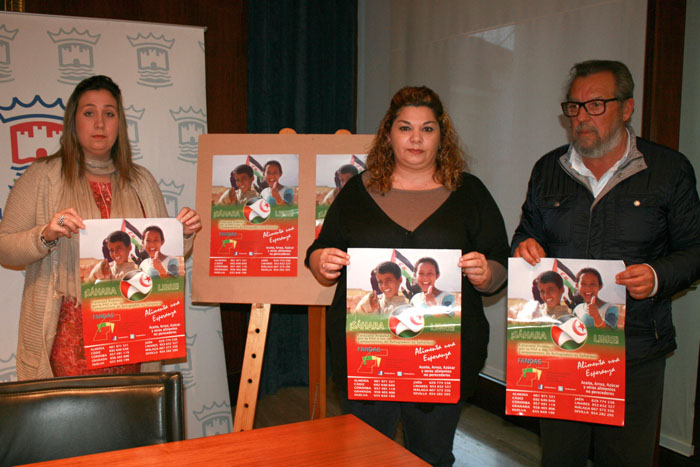 Ya se ha presentado la campaña solidaria en Cartaya.