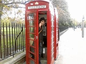Eduardo, en Londres.
