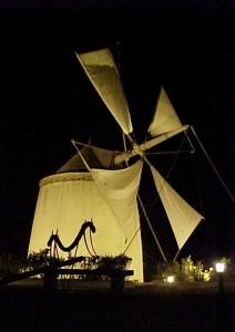 En El Granado se encuentra este ingenio. / Foto: Ayuntamiento de El Granado