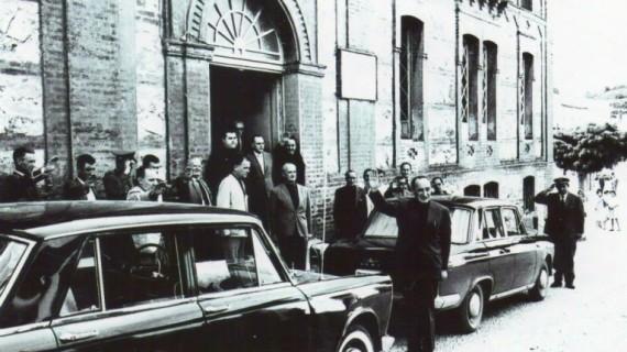 Ayuntamiento de Aracena en la década de los sesenta del pasado siglo XX
