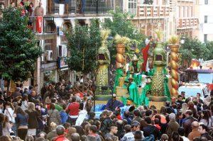 Cabalgata de Reyes en Huelva. / Foto:andalucia.org
