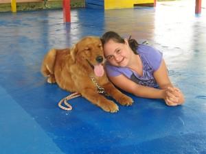 El perro, una herramienta para llegar a personas con capacidades diferentes / Foto: fund4patas.wordpress.com