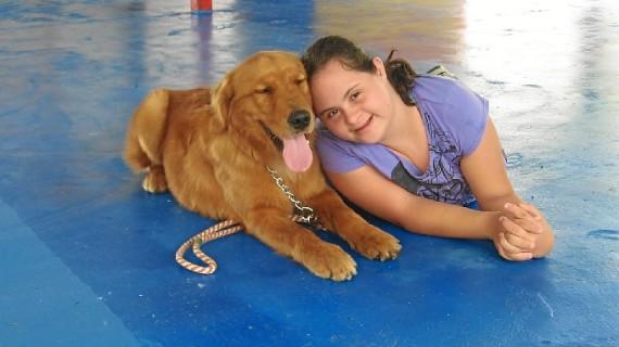 El perro, una 'herramienta' terapéutica para llegar a personas con capacidades diferentes