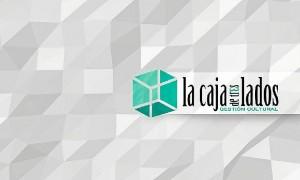 Logotipo de 'La Caja de Tres Lados'.