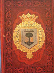 Uno de sus libros más antiguos.