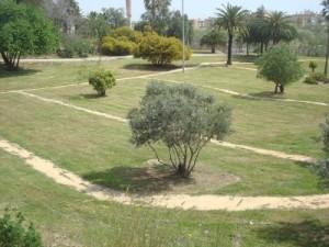 El Parque Moret de Huelva.