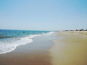 Imagen de la playa de Islantilla. / Foto: Patronato Turismo Huelva.