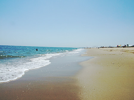 Imagen de la playa de La Antilla. / Foto: Patronato Turismo Huelva.