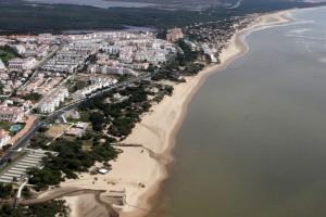 Imagen de la playa de Nuevo Portil en la guía de playas. / Foto: Ministerio de Medio Ambiente.
