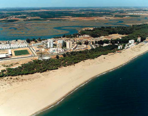 Playa Camino de Santana, en Isla Cristina. / Foto: Ministerio de Medio Ambiente.