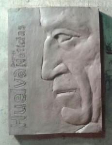 Imagen del galardón, obra de Germán Franco, que se entregará a los protagonistas de las noticias.