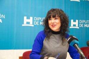 La diputada de Dinamización y Cooperación Sociocultural de la Diputación de Huelva, Elena Tobar.