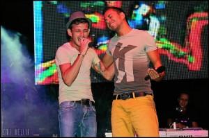 Rafa González con Sergio Contreras.