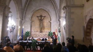 Acto de apertura del curso académico de la UNIA en La Rábida.