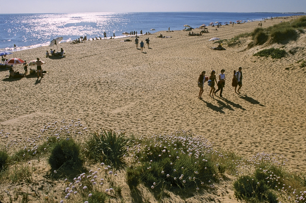 Playa de Punta Umbría.