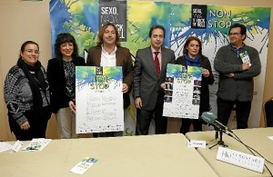Rueda de prensa de presentación del programa de actividades de 'Non Stop Huelva'