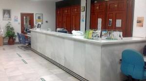El atraco se produjo en una entidad bancaria de Caja Rural en Rociana.