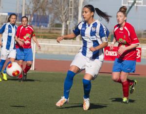 Las onubenses dieron un importante paso hacia la Copa de la Reina. / Foto: Juanma Arrazola.