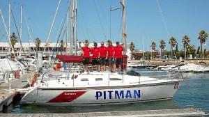 La embarcación pertenece al Club de Mar de Mazagón.