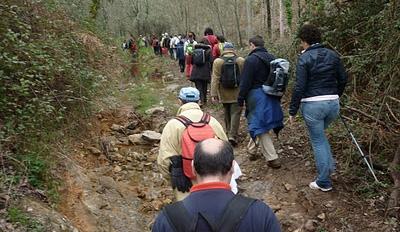 La Peña del Hierro en Nerva será el domingo el destino senderista del programa 'Aracena por los caminos'