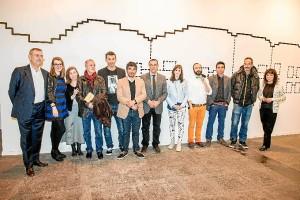 Foto de familia de la apertura de ArcoMadrid 2014.