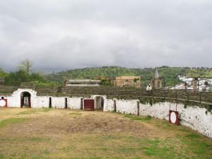 Plaza de Toros de Aroche.