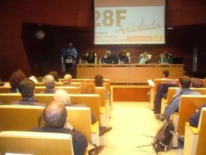 Imagen de la Asamblea Local de IU en Huelva.