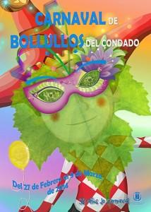 Cartel del Carnaval de Bollullos 2014.