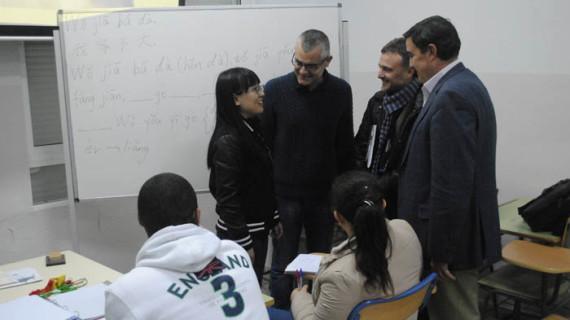 Un total de 88 alumnos asisten al programa de enseñanza de lengua y cultura chinas que se imparte en el IES Diego de Guzmán