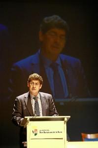 Diego Valderas, durante su intervención.