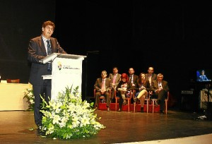 El vicepresidente de la Junta espera que Huelva lidere un nuevo modelo productivo.