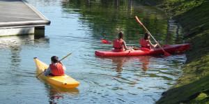 En el Programa de Deporte Escolar en Ayamonte no faltarán actividades náuticas.
