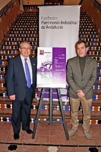 Pepe Suárez, de la Asociación Herrerías, y Antonio Luis Andivia.