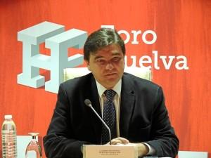 Gabriel Cruz, en un momento del Foro.