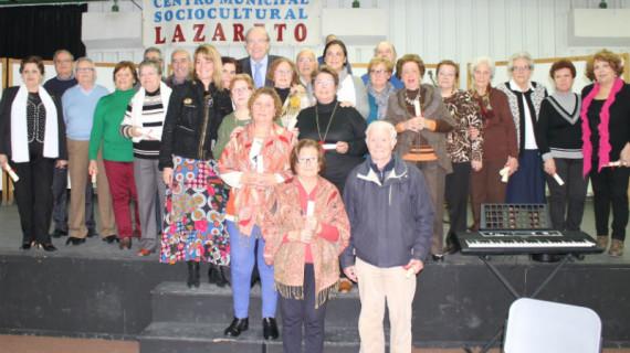 Homenaje a los voluntarios del proyecto 'Mayores por los Mayores' del Centro Lazareto de Huelva