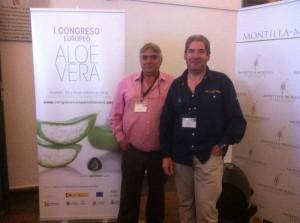 El onubense Manuel Benavente en el I Congreso Nacional del Aloe.