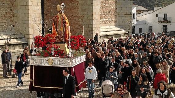 Aracena celebra las fiestas de su patrón, San Blas