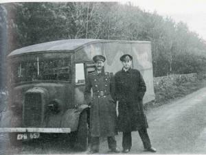 Los padres de la operación Charles Cholmondeley y Ewen Montagu.