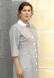 Maica Barroso, caracteriza con su personaje de 'Amar en Tiempos Revueltos'.