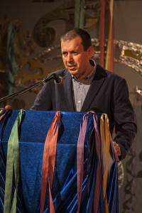 Manuel Feria, autor del cartel